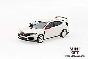 Mini GT MGT00010-R 1/64 Honda Civic Type R Unidad de Mano Derecha, Color Blanco