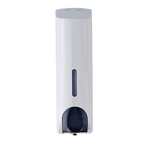 350ml einzelne flüssige Seifenspender Wandhalterung Bad Dusche Zubehör weiß