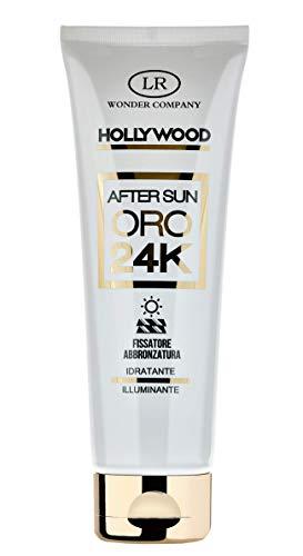 After Sun 24k, crema doposole con oro 24 carati, nutre, idrata, illumina la pelle e fissa l'abbronzatura (1x125ml) - LR Wonder Company