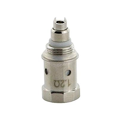 IMECIG® Original G3 Ersatz Verdampferkopf Dual Coil 5x 1,2 Ohm für Elektronische Zigarette/E Cigarette Clearomizer ohne Nikotin von IMECIG