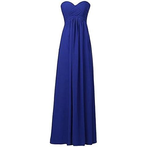 Vestido de Novia de la Dama de noche largo del Vestido de las mujeres