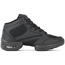 Rumpf Vision Zapatillas 1595Dance Fitness–negro/plata Negro negro Talla:46 EU