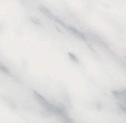 Klebefolie - Möbelfolie Marmor Look weiss grau Dekorfolie 45 cm x 200 cm Selbstklebende Folie Naturstein Optik - Bastelfolie Selbstklebefolie Designfolie