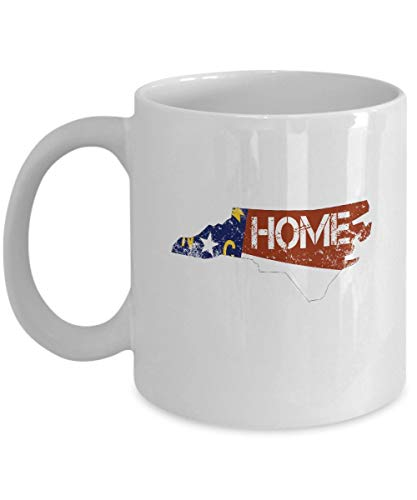 funny cat North Carolina State Kaffeetasse & ndash; Familie & ndash; Geschenk von NC - 321,97 ml Keramikbecher