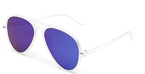 Vintage Wohnung hell Quecksilber street-Fashion Sonnenbrille Sonnenbrille Pilotenbrille