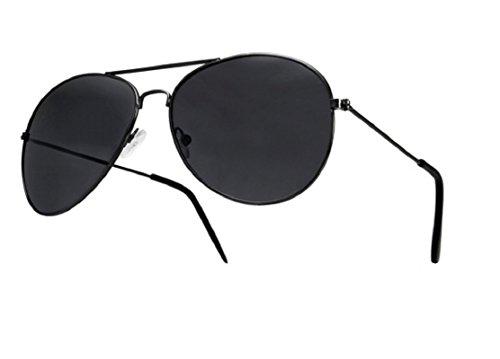 UNISEX (MÄNNER FRAUEN) 70er Designer Style Unisex Silver Mirror Sonnenbrille - UV400 Protection
