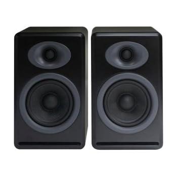 Audioengine P4 Passive Bookshelf Speakers Satin Black