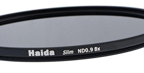 Haida Slim Graufilter ND0.9 (8x) 72mm. Extrem schlanke Fassung + Pro Lens Cap 72