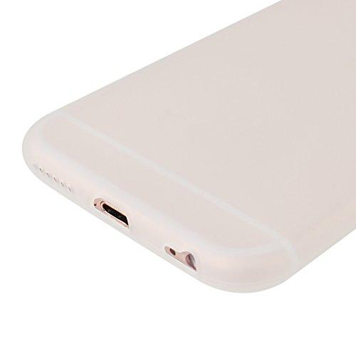 iPhone 6S Hülle Dünn Silikon, Asnlove Handy Schutzhülle für Apple iPhone 6 / 6S Hülle TPU Silikon Backcover Case Handytasche Einfarbig Telefon-Kasten Tasche Schutz Cover Design Rose Color-13