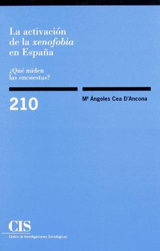 La activación de la xenofobia en España: ¿Qué miden las encuestas? (Monografías)