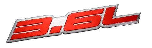 36l-liter-embossed-red-on-highly-polished-silver-real-aluminum-auto-emblem-badge-nameplate-for-chevy