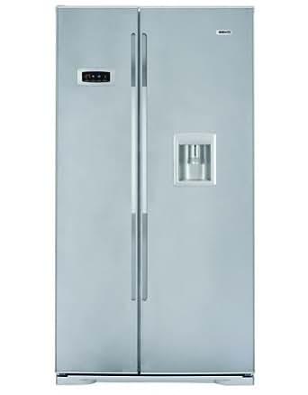 Side-by-side kühlschränke  Beko GNE V222 S Side by Side Fridge-Freezer Energy Efficiency ...