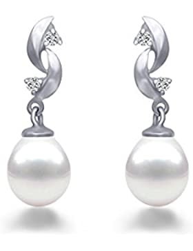 Original McPearl Diamant Perlen Ohrringe. Top Qualität aus der Manufaktur.