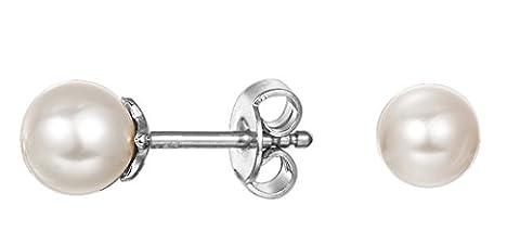 Esprit Damen-Ohrstecker 925 Sterling Silber rhodiniert Ohne