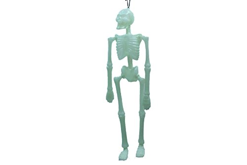 In The Dark Hanging Halloween Skeletons Scary (Pack of 2) (Halloween Scary Skeletons)