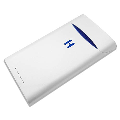 for JUUL Charging Case Box Devices, ONE 1500 mAh Charging Case Box Pods  Holder,White No Nicotine