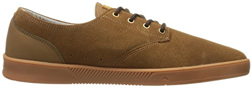 Emerica Laced By Leo Romero-M, Baskets mode homme Marron