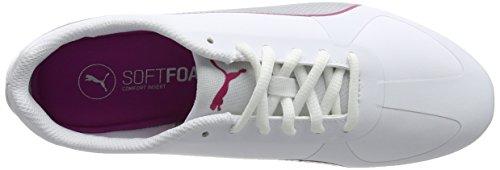 Puma Modern Soleil Sl, Sneakers basses femme Blanc (Puma White-puma Silver 10)