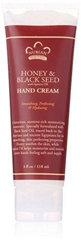 Nubian Heritage Hand Cream Honey And Black Seed -- 4 oz by Nubian Heritage