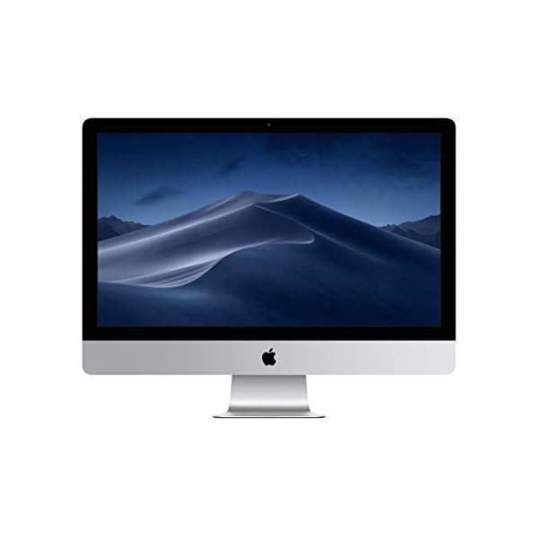 Apple iMac (21.5 Inch Retina 4K display: 3.4 GHz Quad-Core Intel Core i5, 8 GB RAM, 1 TB Fusion Drive) – Silver (Latest Model) 31YE0l 2B2QML