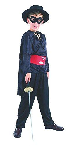 Zorro-Kostüm Kind Größe S