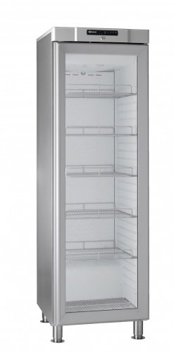GRAM Umluft-Kühlschrank mit Glastür COMPACT KG 410 RH 60HZ LM 5M