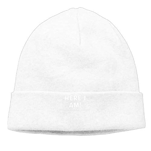 Momen Here I Am What Are Your Other 2 Wishes Warm Jogging Black Beanies Skull Hat