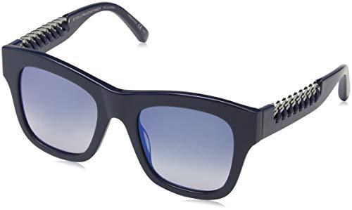 Stella McCartney Unisex-Erwachsene SC0011S 007 Sonnenbrille, Blau (007-Bluee/Bluee), 49