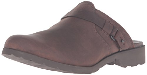 Teva Delavina Mule, Ciabatte Donna Marrone (DARK BROWN- DKBDark Brown- Dkb)