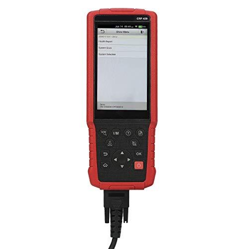 Preisvergleich Produktbild Launch CRP429 OBD2 Diagnosewerkzeug Diagnose-Scan-Tool mit allen System-Diagnosen und Service-Funktionen inkl. Öl-Reset,  EPB,  BMS,  SAS,  DPF,  Injektor-Codierung und IMMO (Advanced Version von Launch CRP Touch Pro)