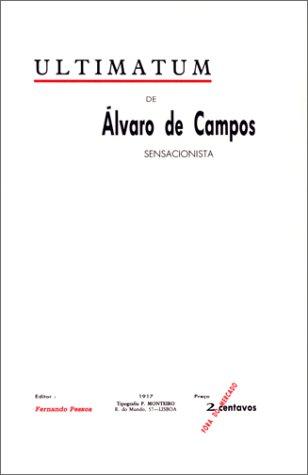 Ultimatum (édition bilingue) par Fernando Pessoa