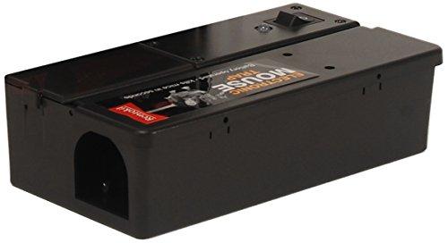 Rentokil FE35 Piège à souris électronique, Noir, 17,1 x 8,8 x 5,1 cm