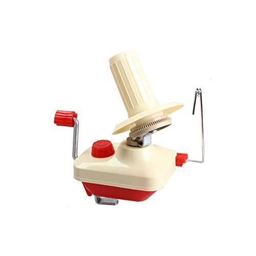 kakakooo Tragbarer Garn Faser String Kugel Wolle Winder Handbetriebene Halter Yarn Winder Leichte Wolle String Kugel Skein Maschine