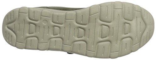 Kappa Damen comfit Velcro Sneaker Grün (3434 Khaki)