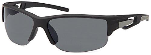 Designer Sport Sniper Shades Einzigartig Verspiegelte Sonnenbrille black CE UV400/2563-O1