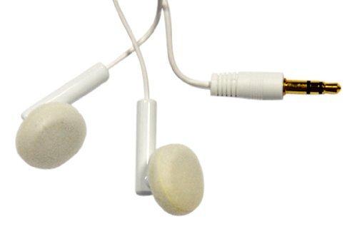 Express Notebook (Media Express SF0321-Stereo-Kopfhörer 3,5mm-Stecker für Smartphone und MP3, Laptop, Tablet, kompatibel mit High Resolution Audio, erhältlich in Weiß oder Schwarz)