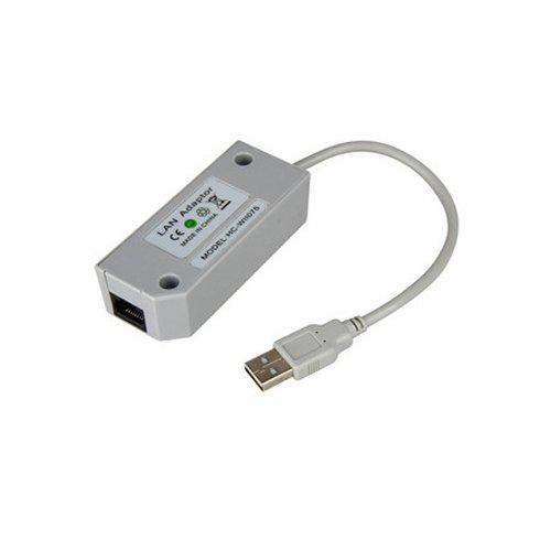 OSTENT USB 2.0 LAN Adapter Netzwerkkarte kompatibel für Nintendo Wii Konsole Videospiel