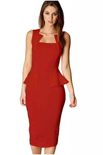 Eyekepper - Robe -  - Cocktail Femme Rouge