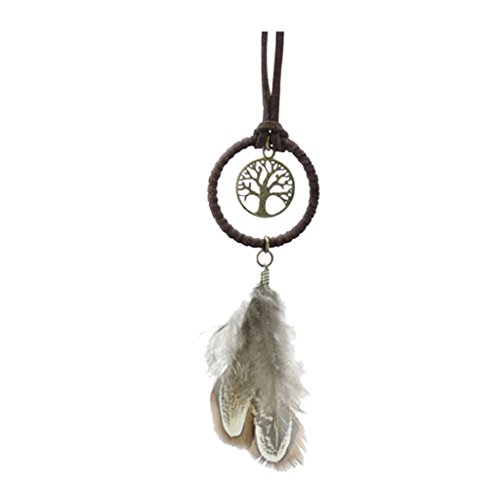 Magideal Handmade Dream Catcher Pendant For Car Hanging Key Chain