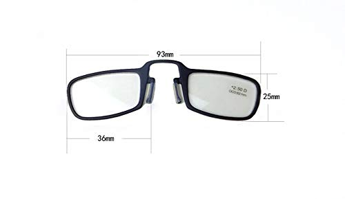 Lesebrillen Classic Collection Schwarz Universal Pod Case Schwarz Rahmen (300 Grad)