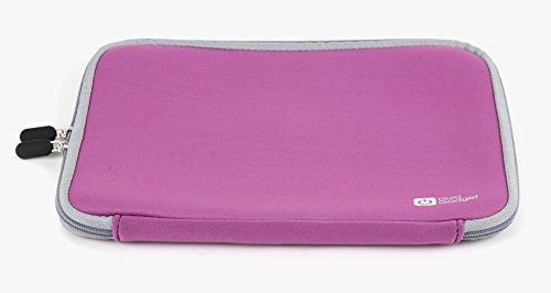 DURAGADGET Neopren-Hülle für Das ALDI MEDION Akoya E2215, Akoya S2218, Akoya S2013 (MD 99602) Chromebook und Akoya S2217 (MD 99512) Notebook (Violett)