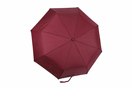 rain-street-folding-umbrella-dual-color-basic-automatic-wind-resistant-pink