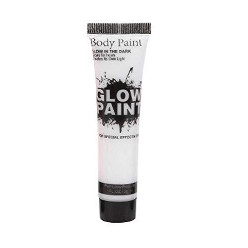 UV Neon Face & Body Paint Glow Kit, 25ml Blacklight Reactive Fluorescent Paint für Festival, Gesichtsbemalung, Kostümparty - Sicher, Waschbar, Ungiftig, 7 Farben