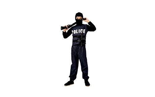 CARNIVAL KOSTÜM SWAT POLIZEI Kind 11 - 14 -
