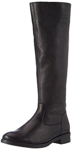 Remonte Damen D8582 Hohe Stiefel (Schwarz 01), 44 EU