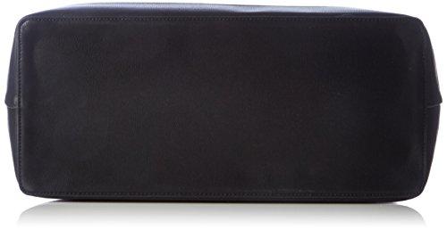 Desigual BOLS_TROPICAL FLY, Borse a Tracolla Donna, Nero (2000), 16x27x35 cm (B x H x T)