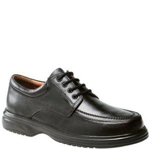 Roamer - Zapatos de cordones de cuero para hombre negro negro 39.5, color negro, talla 45