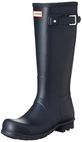 New Hunter Men?s Original Tall Wellington Boots - Navy - 10