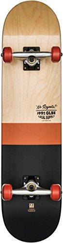 Globe Half Dip 2 Complete, Skateboard Unisex – Adulto, Marrone, 7.75FU