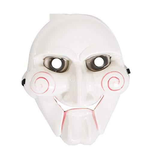 JRKJ Kettensägen-Killermaske Gruselige & Lustige Masken - Perfekt Für Karneval & Halloween - Unisex-Kostüm Für Erwachsene (Clown-Männermaske)Weibliche - Weibliche Für Erwachsene Clown Kostüm